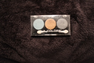 photo la colors eyeshadow trio